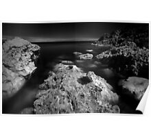 The Rock - Infra Red Sea Poster