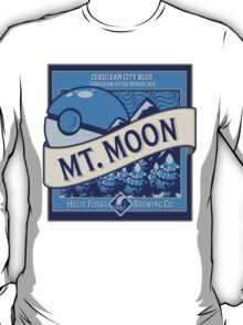 Mt. Moon Pokemon Beer Label T-Shirt