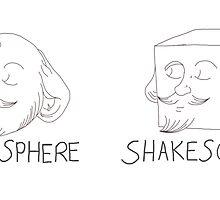 Shakesphere - Shakescube by Constantinoplis