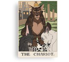 Warriors Tarot Series- The Chariot Canvas Print