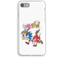 Classic Sonic Team iPhone Case/Skin