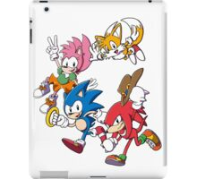 Classic Sonic Team iPad Case/Skin