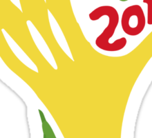 FIFA World Cup Logo Brazil 2014 Sticker