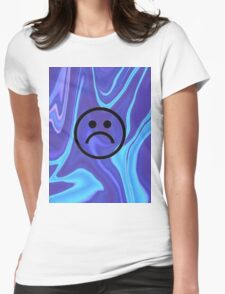 Sad Swag Womens Fitted T-Shirt