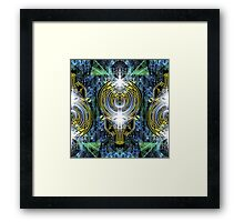 Electrified Vibes Framed Print
