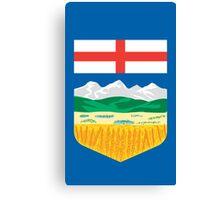 Alberta Crest Canvas Print