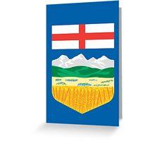 Alberta Crest Greeting Card