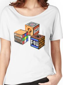 Geeky Cubes Women's Relaxed Fit T-Shirt