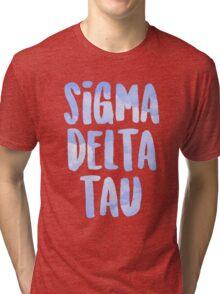 Sigma Delta Tau Tri-blend T-Shirt