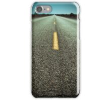 Route 66 into the distance iPhone Case/Skin