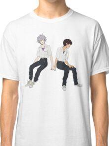 Kaworu + Shinji - Neon Genesis Evangelion  Classic T-Shirt