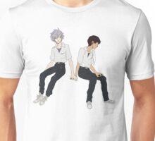 Kaworu + Shinji - Neon Genesis Evangelion  Unisex T-Shirt