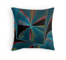 Square at the top Throw Pillow