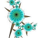 Cool Minty Flowers by lacitrouille