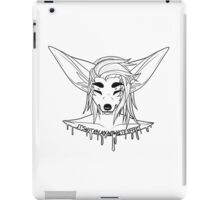 It's Not A Black and White Effect iPad Case/Skin