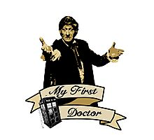 My first Doctor (Who) Third 3rd Jon Pertwee Photographic Print