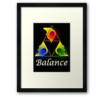 The Will of the Triforce Framed Print