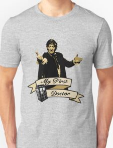 My first Doctor (Who) Third 3rd Jon Pertwee T-Shirt