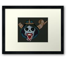 The Lich Framed Print