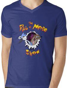 The Regular & Stimpy Show Mens V-Neck T-Shirt