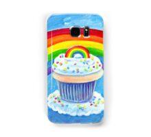 Rainbow Cupcake Samsung Galaxy Case/Skin