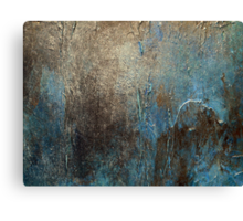 Abstract Coastal Painting-OXIDIZED-artist-holly-anderson Canvas Print