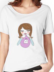 Balloon Girl. Women's Relaxed Fit T-Shirt