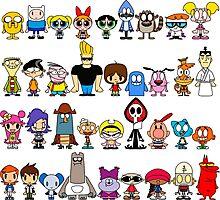 Cartoon Network Photographic Print