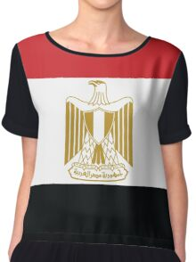 Egypt Flag Chiffon Top