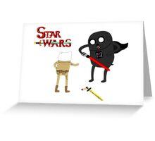 Star Wars Time Greeting Card