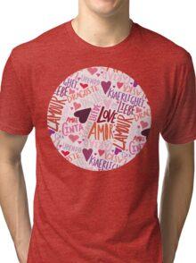 Love Languages Tri-blend T-Shirt