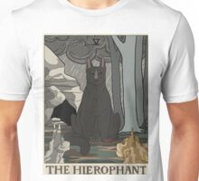 Warriors Tarot Series- The Hierophant Unisex T-Shirt
