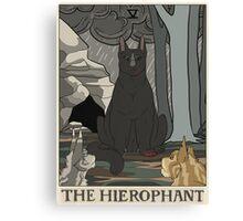 Warriors Tarot Series- The Hierophant Canvas Print
