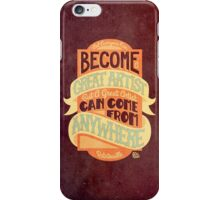 Pixar Ratatouille Quote iPhone Case/Skin