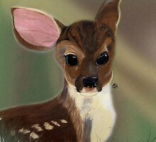 Bambi's Cousin by designedbylaura