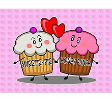 Sweetie-pie honey bunch Photographic Print