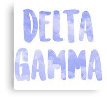 Delta Gamma Canvas Print