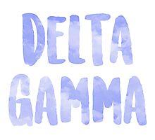 Delta Gamma Photographic Print