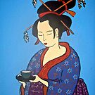 Geisha with Cup by Shulie1