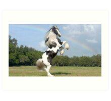 elite horse Art Print