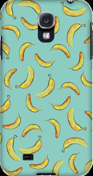 Banana pattern  by amadreamart