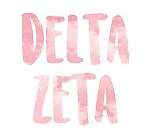 Delta Zeta Photographic Print
