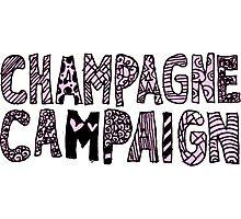 Champagne Campaign  Photographic Print