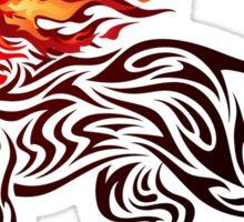 Fiery Spirit Sticker