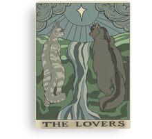 Warriors Tarot Series- The Lovers Canvas Print