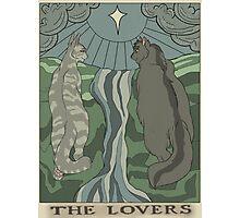 Warriors Tarot Series- The Lovers Photographic Print