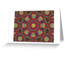 Oriental Kalder Carpet Greeting Card