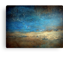 Abstract Coastal Painting PIER 50 artist holly anderson Canvas Print