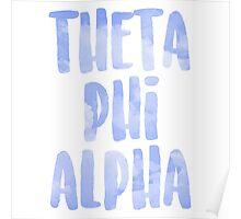 Theta Phi Alpha Poster