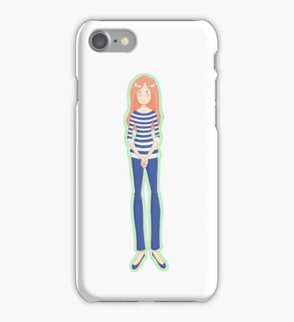 Mrs. Pond (Mint) iPhone Case/Skin
